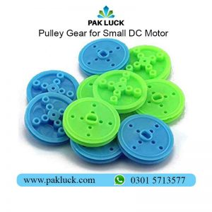 Pulley Gear for Small DC Motor